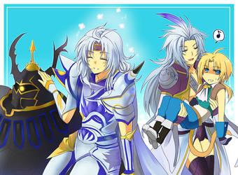 Dissidia FF- Brotherly Love by meru-chan