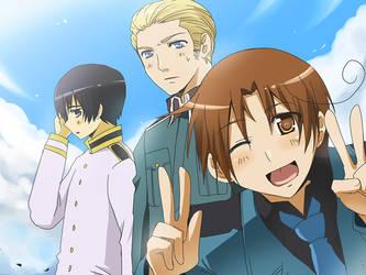 Hetalia - Axis Powers by meru-chan