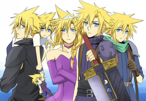 FF7- Types of Cloud