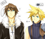Dissidia FF- Difference