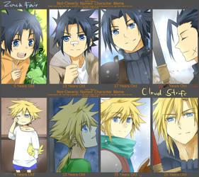 FF7- Age meme ZC by meru-chan