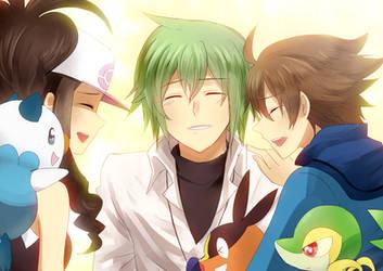 Pkmn BW- Together Again by meru-chan