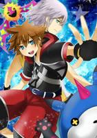 KH3D- Companions by meru-chan