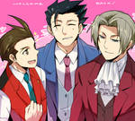 Ace Attorney- Welcome back!