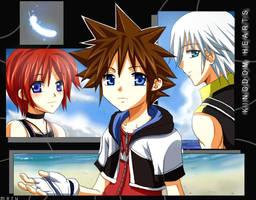 Kingdom Hearts- Apart by meru-chan