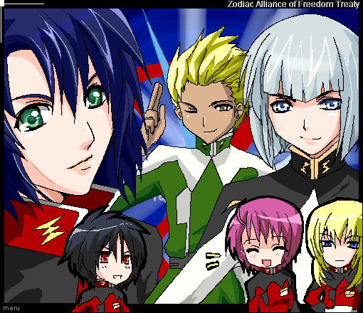 GSD- ZAFT luv by meru-chan