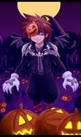 KH- Halloween Sora by meru-chan