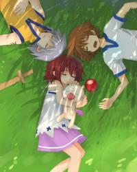 KH-  Afternoon Nap by meru-chan