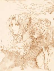 FF7- Reverence by meru-chan