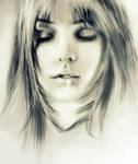 Model's Face Sketch
