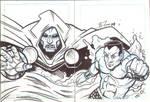 Doom Namor puzzle cards