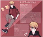 LuKris #106 Kristof Official ref by Freckled-Jellyfish