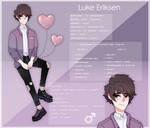 LuKris #107 Luke Official ref by Freckled-Jellyfish