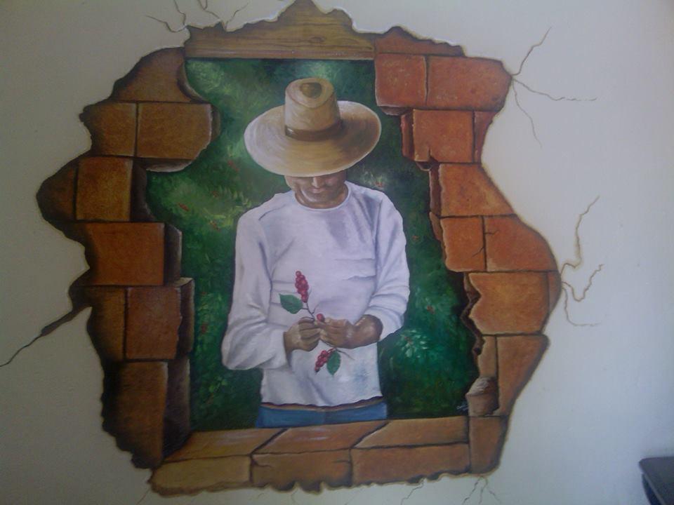 Pinturas en pared top tipos de pintura para paredes y - Tipos de pintura para paredes ...