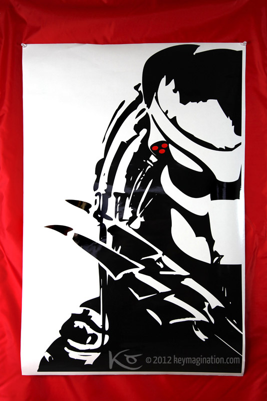 Predator decal sticker by keymagination