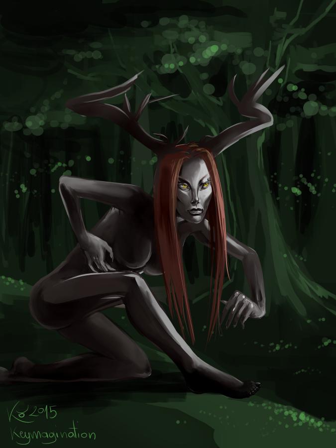Deer Fairy 2015 by Keymagination