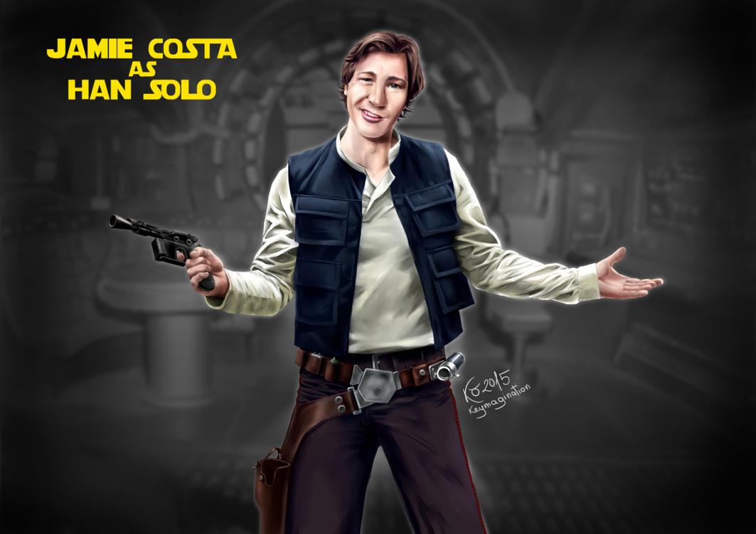 Jamie as Han Solo 2015 by Keymagination