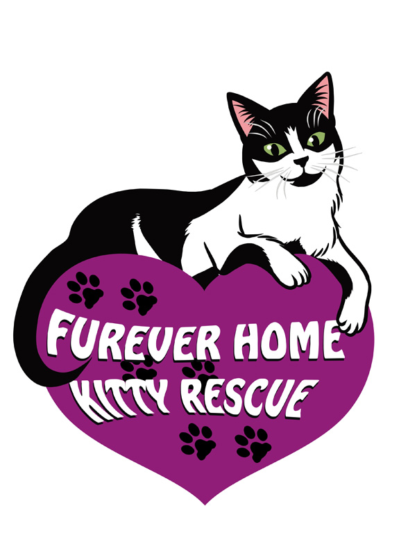 Furever Home Kitty Rescue logo version 1 FINAL by Keymagination