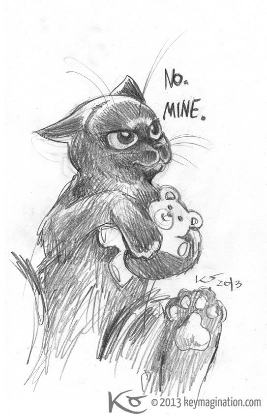 Possessive Kitty 2013 by Keymagination