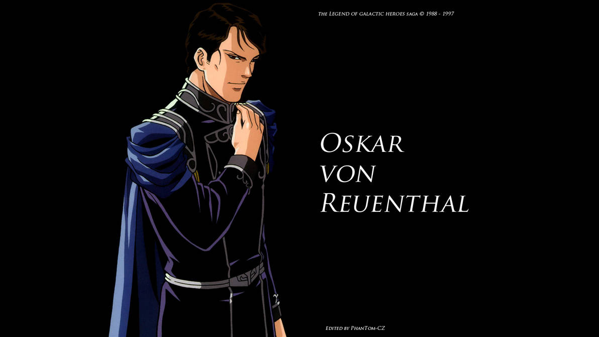 The Legend Of Galactic Heroes Reuenthal Screen By Phantom Cz On
