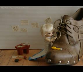 The Little Shoemaker by MySweetQueen-Dolls
