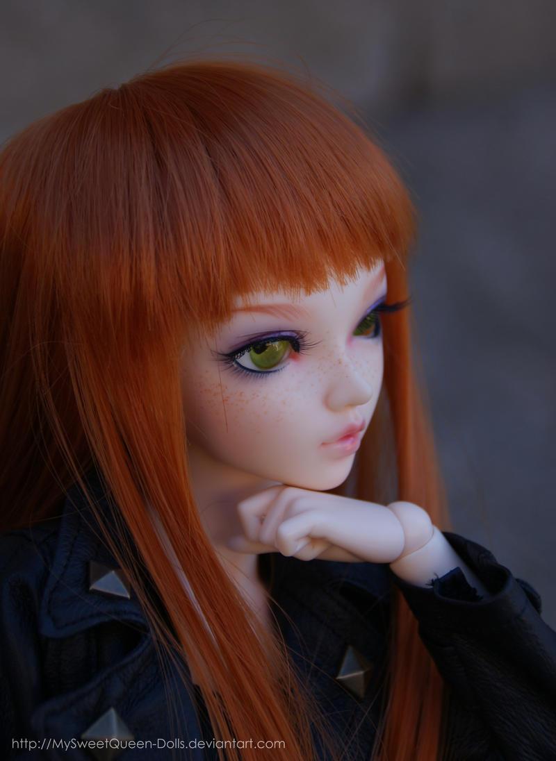 Aha, Interesting by MySweetQueen-Dolls