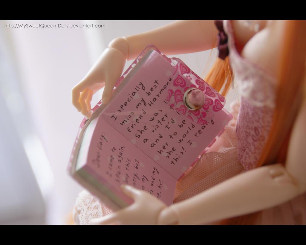 Dear Diary... II by MySweetQueen-Dolls
