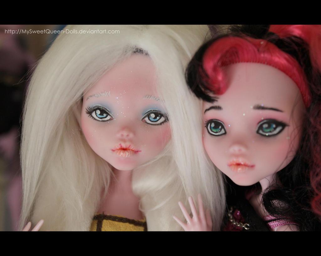 Sisters by MySweetQueen-Dolls