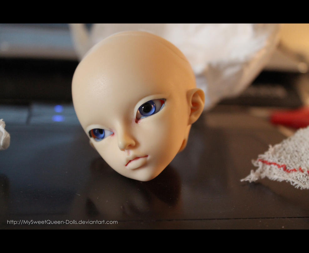 My New Model for Makeups! by MySweetQueen-Dolls