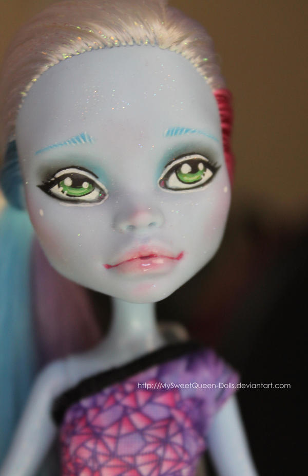 Sweet Repainted Abbey by MySweetQueen-Dolls