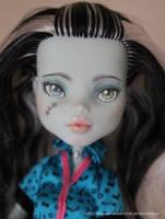 Repainted Frankie (Sold) by MySweetQueen-Dolls