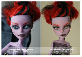 Then and Now: Persephore by MySweetQueen-Dolls
