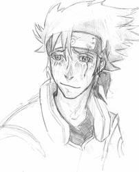 Kakashi's face