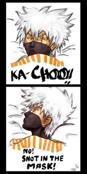 Kakashi Sneeze.