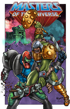 Masters of The Universe by Mike Shampine