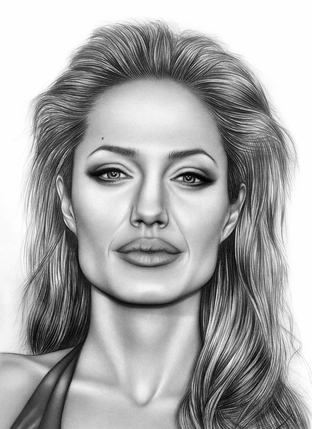 Angelina Jolie By AdamAlexisRyan On DeviantArt