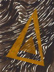 Golden-tirangle by FictarGraphics