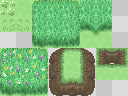 Grassy Tiles by TyranitarDark