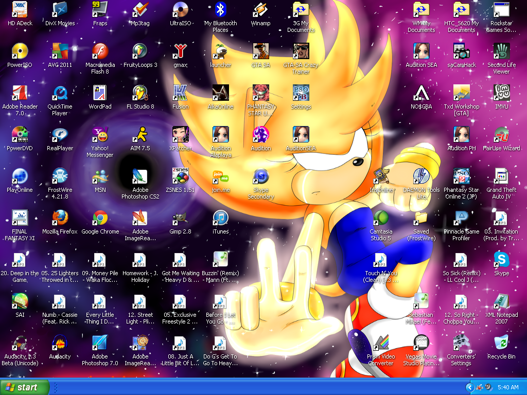 My Desktop by DJCatt