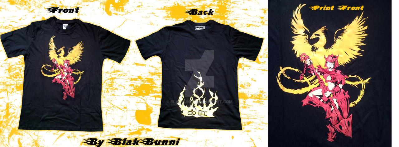 Samurai Warrior mens T-shirt by BlakBunni