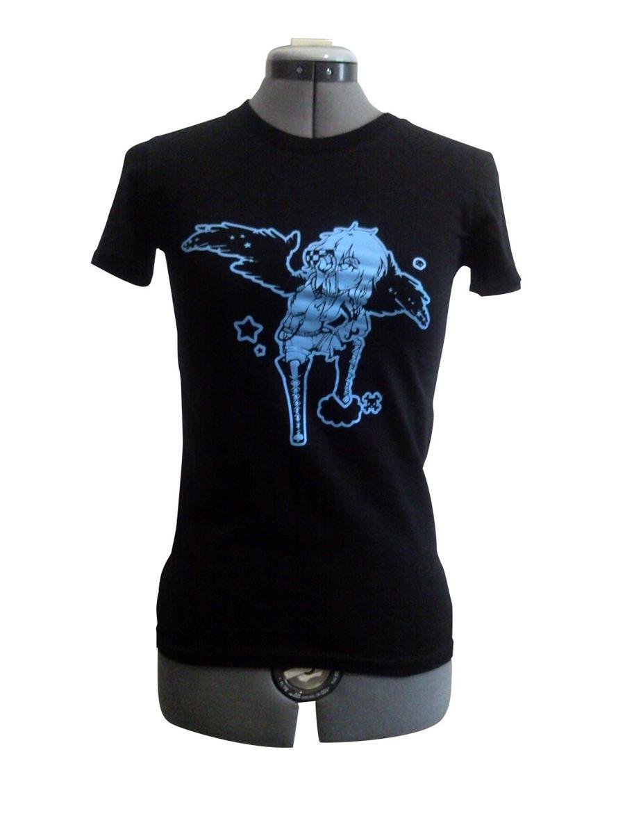 Skeith Angel Ladies T-shirt by BlakBunni