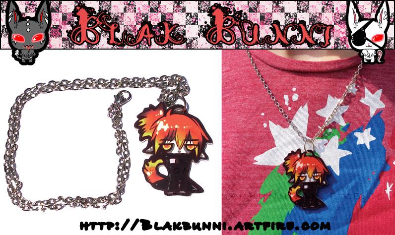 Blaze Necklace by BlakBunni