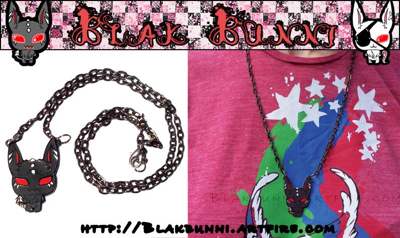 Blair Metal Necklace by BlakBunni
