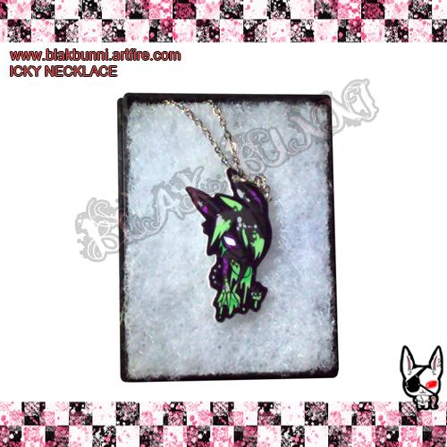 Icky Necklace by BlakBunni