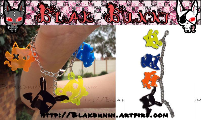 Nightmare Friends Bracelet by BlakBunni