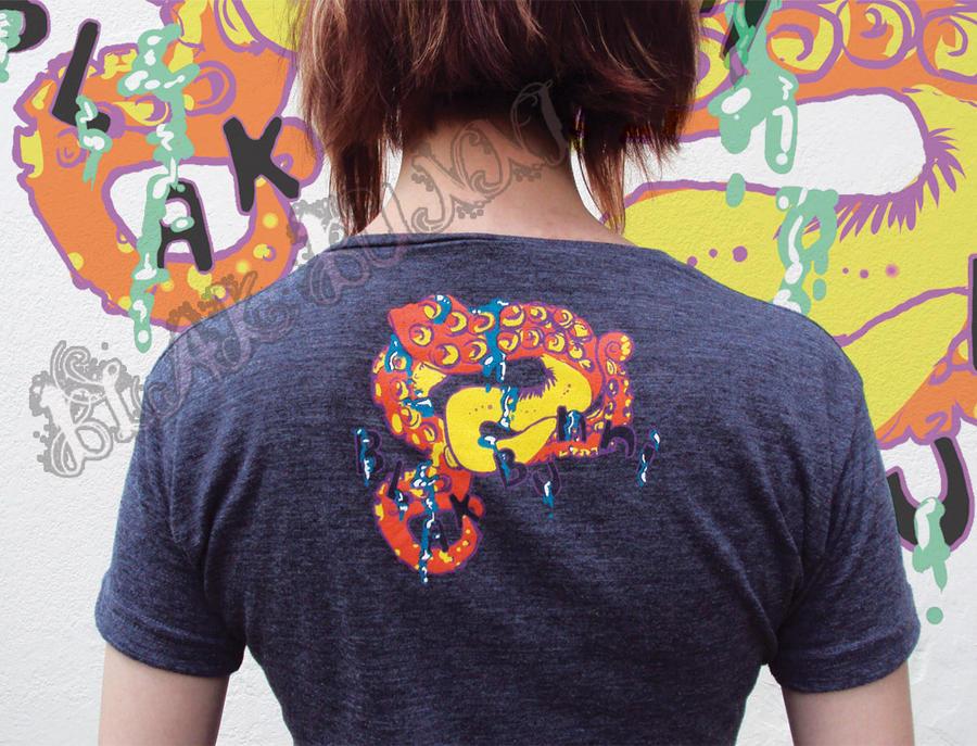 Icky Tentical T-shirt 3 by BlakBunni