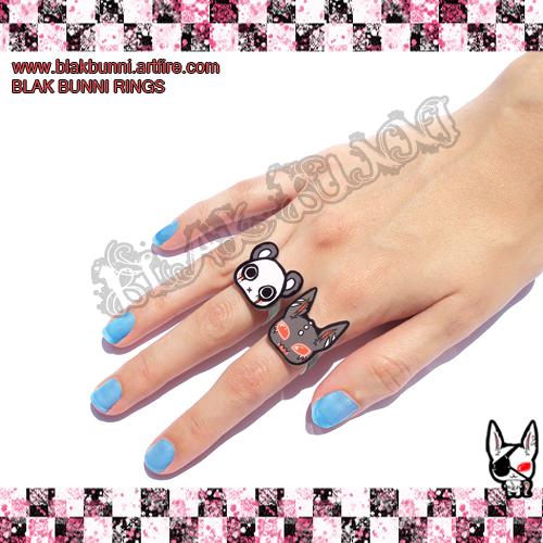 Cute Rings by BlakBunni