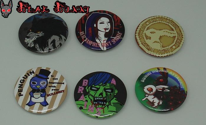 Badges by BlakBunni