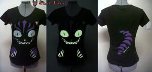 Cheshire Cat Glow-in-the-dark t-shirt