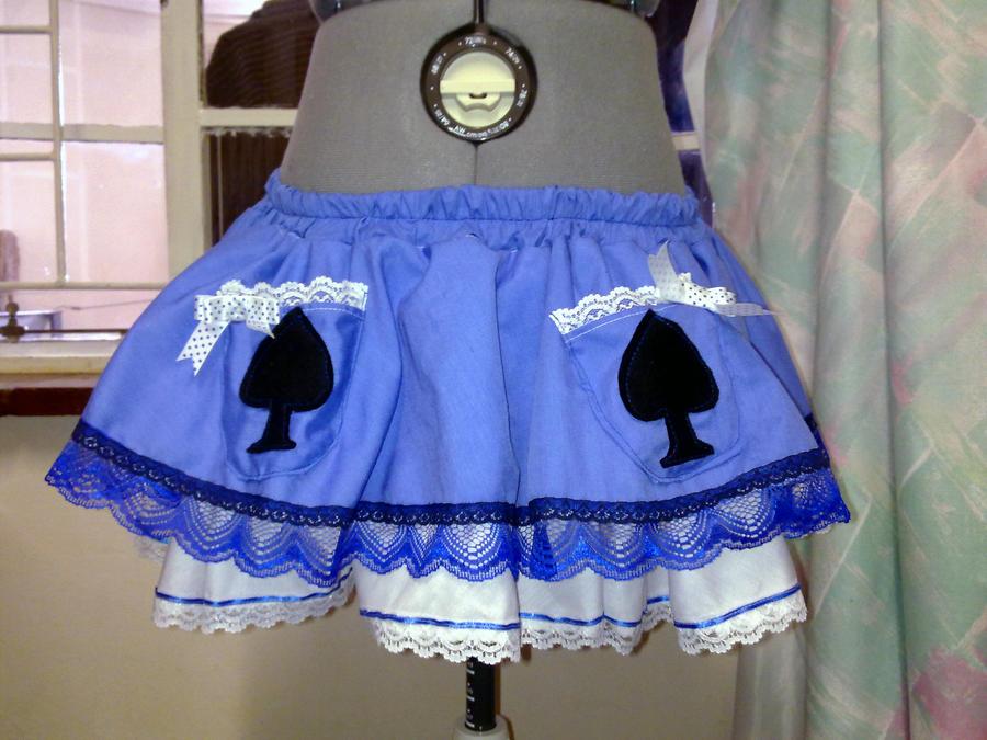 Alice Mini Lolita Skirt by BlakBunni